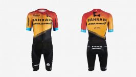 Tuta da ciclismo Bahrain-Merida 2020