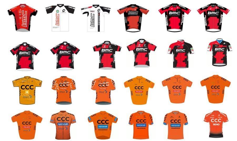 maglie ciclismo CCC Team