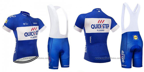 salopette ciclismo Quick Step Floors