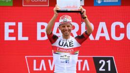 Majka ha dedicato la vittoria spagnola della Vuelta alla memoria di suo padre