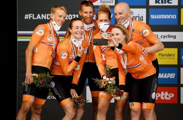 salopette ciclismo Paesi Bassi