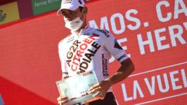 """Champoussin ha assaporato la vittoria nella tappa """"inaspettata"""" della Vuelta a España"""